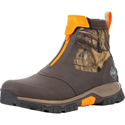 Muck Apex Mid Zip Boot Brown/ Mossy Oak Break Up Country