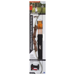 October Mountain Passage Recurve Bow Package 54 in 20 lb LH