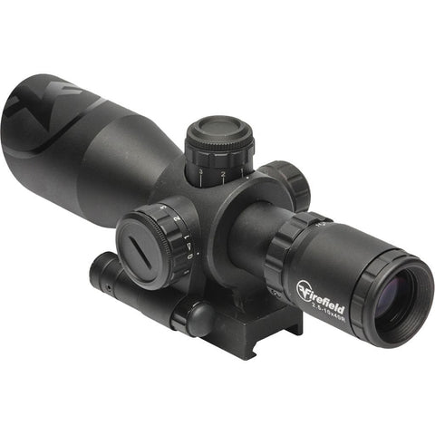 Firefield Barrage Rifle Scope 2.5-10x 40mm Illuminated Reticle w/ Laser Weaver