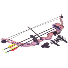 SA Sports Majestic Youth Bow Package Pink Camo 20 lbs. RH