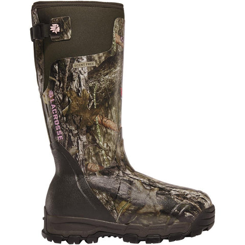 LaCrosse Womens Alphaburly Pro Boot Boot Mossy Oak Country 1600g
