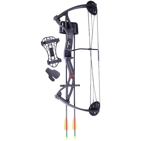 CenterPoint Wildhorn Youth Bow Black RH