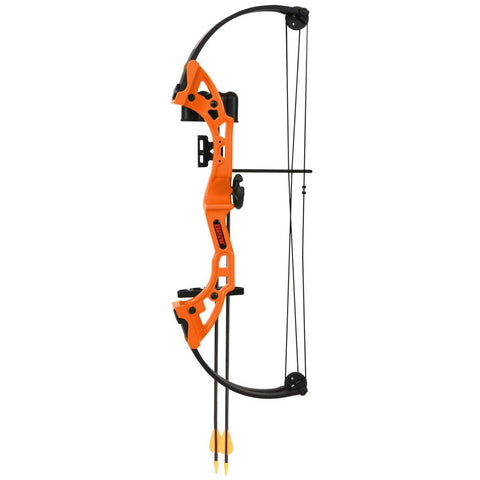 Bear Brave Bow Set Orange 13.5-19in. 15-25 lbs. RH