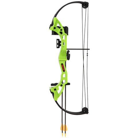 Bear Brave Bow Set Green 13.5-19in. 15-25 lbs. RH