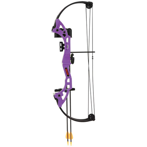 Bear Brave Bow Set Purple 13.5-19in. 15-25 lbs. RH
