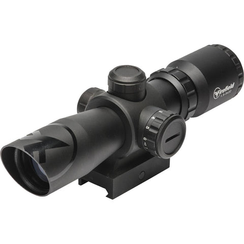 Firefield Barrage Rifle Scope 1.5-5x 32mm Illuminated Reticle Weaver Mount