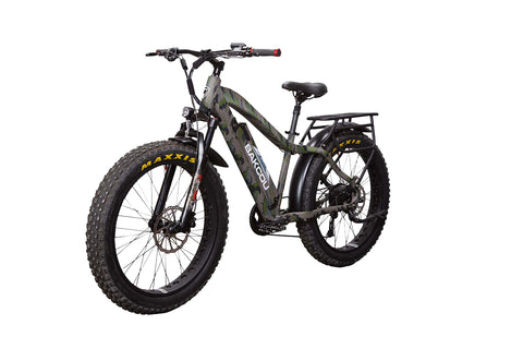 "Bakcou Flatlander Step-Through (ST) 24"" Tires Electric Hunting Bike"