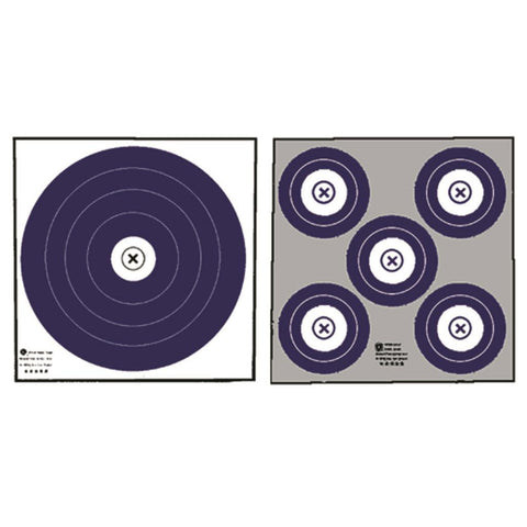 Maple Leaf Target Face NFAA Double Sided Indoor 100 pk.