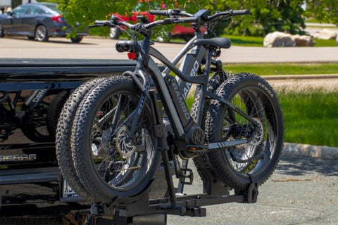 Fat Tire Bike Hitch Hauler