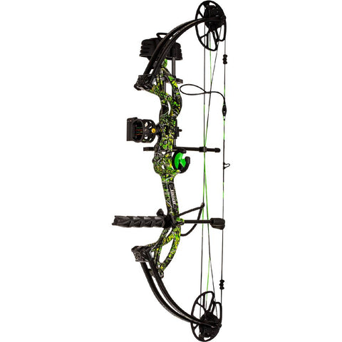 Bear Archery Cruzer G2 RTH Bow Package Moonshine Toxic 5-70 lbs. LH
