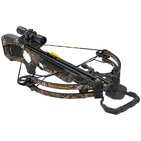 Browning Zero 7 Crossbow OneSixTwo Package Mossy Oak Country