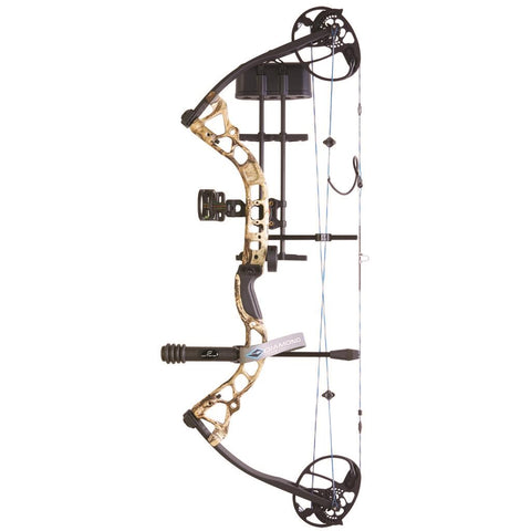 Diamond Infinite Edge Pro Package Mossy Oak Country 13-31in. 70lb LH