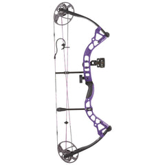 Diamond Prism Bow Package Purple 18-30 in. 5-55 lbs. RH