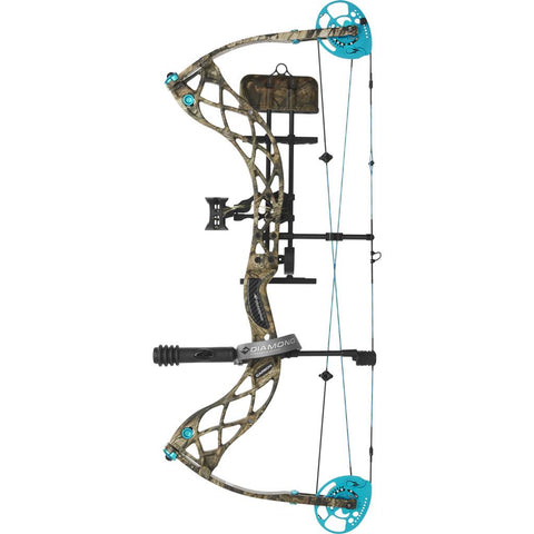 Diamond Carbon Knockout RAK Bow Package Mossy Oak Country 60 lb. RH