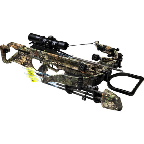Excalibur Micro Suppressor 400 TD Mossy Oak Break Up Country w/ Tact 100 Scope