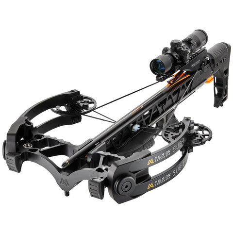 Mission Sub 1 Crossbow Black Pro-Kit Package