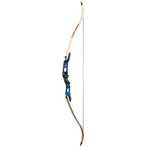 PSE Optima Recurve Bow Blue 56 in. 20 lbs. RH