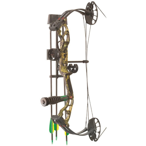 PSE Mini Burner RTS Package Mossy Oak Country 16-26.5 in. 40 lbs. RH