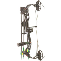 PSE Mini Burner RTS Package Black 16-26.5 in. 40 lbs. RH