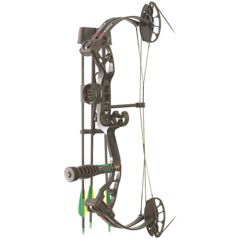 PSE Mini Burner RTS Package Black 16-26.5 in. 40 lbs. LH