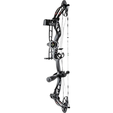 PSE Uprising RTS Package Black 14-30 in. 70 lbs. RH