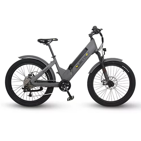 QuietKat Villager Electric Hunting Bike Red