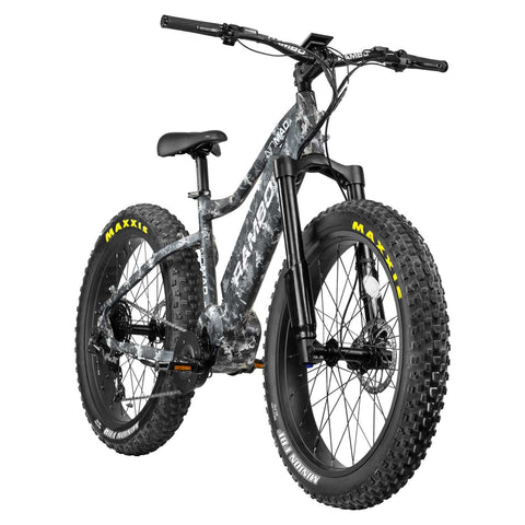 Rambo Nomad Electric Hunting Bike Carbon