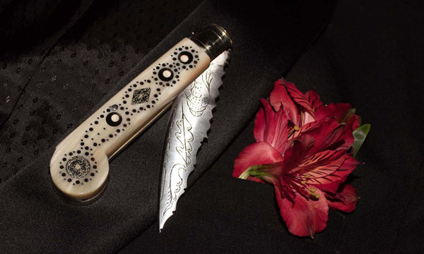 Coltello del Amore ( Wedding Knife or Lover's Knife ) by Fontani