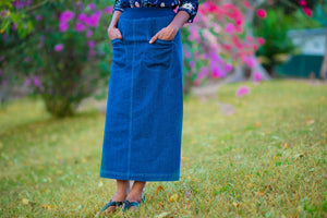nC Classic  Maxi Denim Skirt