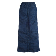 Ruched Skirt - Vintage Blue