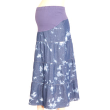 Maternity Skirt Tiered Tie Dye