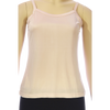 Silk  Pointelle Camisole - Soft Pink