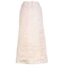 Shirred Inserts Skirt
