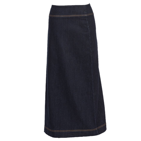 Long Denim Skirt