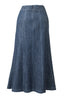 Andrea - Long Denim Skirt