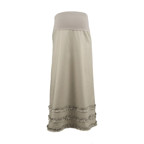 Maternity  Skirt Ruffle Bands