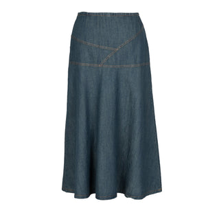 Irina - Maxi Denim Skirt