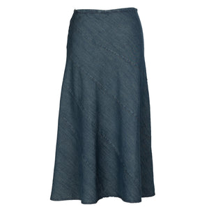 Rachel - Long Vintage Denim Skirt