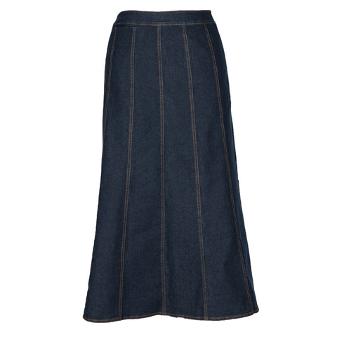 Sandra - Flared Denim Skirt