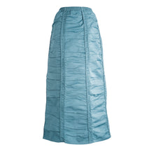Ruched Skirt - Teal