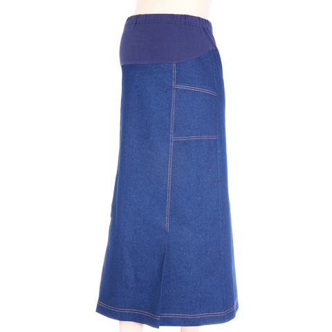 Maternity Skirt 2P2P Denim