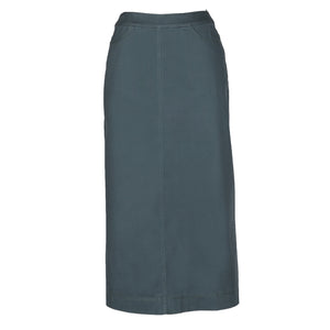 nC Classic Forest Green - Midi Modest Skirt