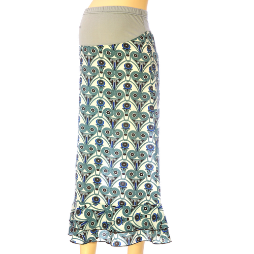 Maternity Skirt Greek Motifs