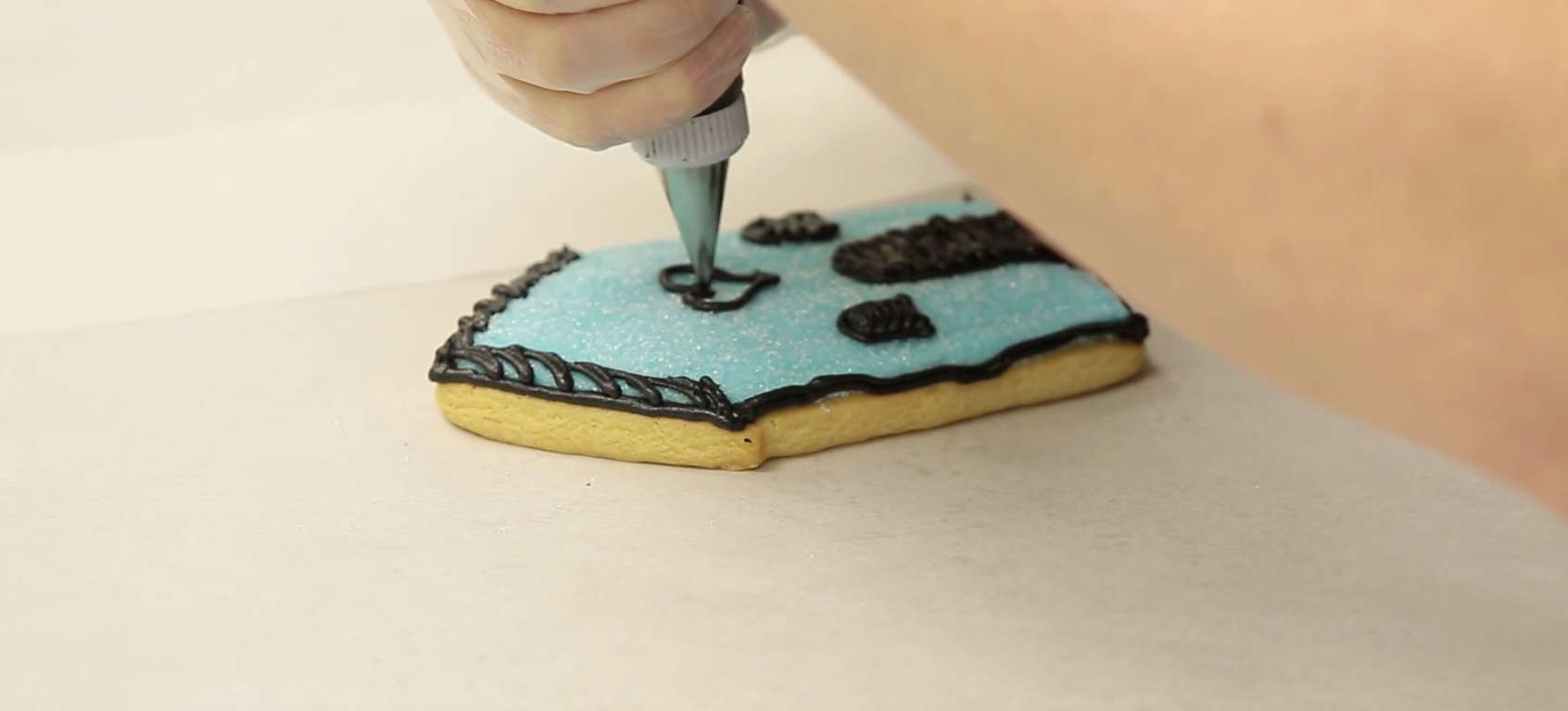 Birdhouse Cookie Decorating Tips with Barbee Cookies
