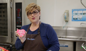 Happy Mother's Day Writing Cookie Decorating Tips with Barbee Cookie