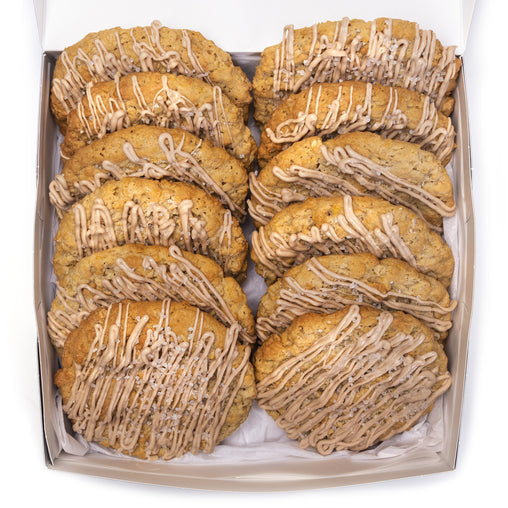 A Dozen Sea Salt Caramel Cookies