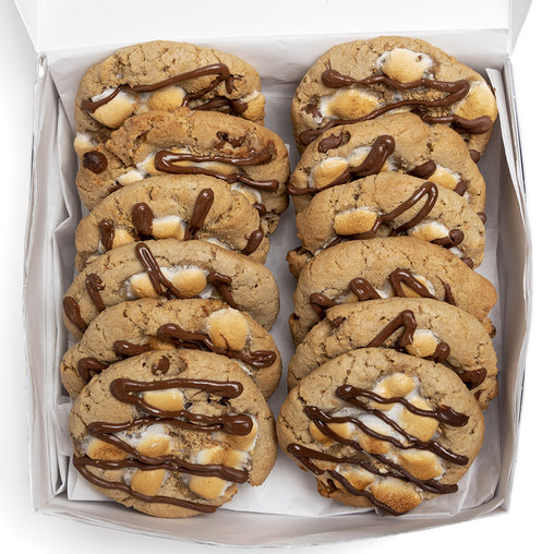 A Dozen Kat's Graham S'mores Cookie