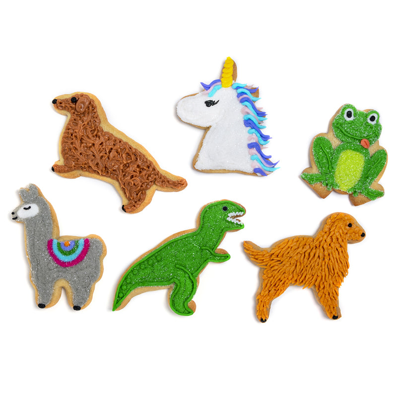 "A Dozen Decorated ""Birthday Pals"" Cookies"