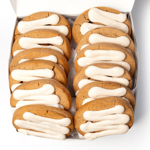 A Dozen Cinnamon Roll Cookies