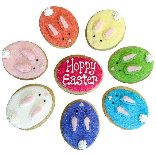 A Dozen Decorated Easter Peep Cookies